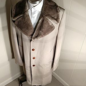 London Fog Faux Fur Coat